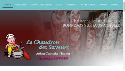 Site internet de Le Chaudron des Saveurs