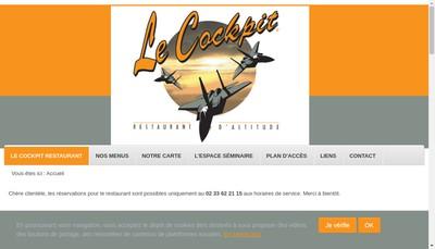 Site internet de Le Cockpit
