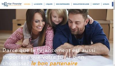Site internet de Le Courtier Financier