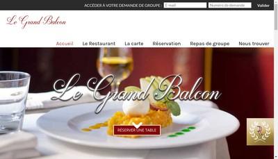 Site internet de Le Grand Balcon