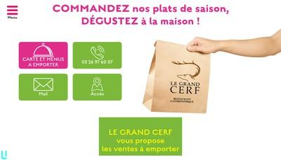 Site internet de Le Grand Cerf SA