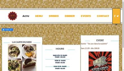 Site internet de Le Ici