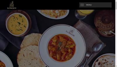Site internet de Le Karachi