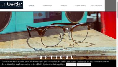 Site internet de Le Lunetier