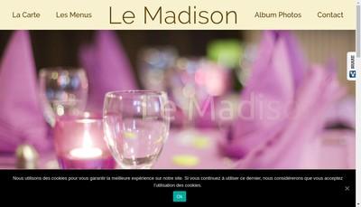 Site internet de Madison
