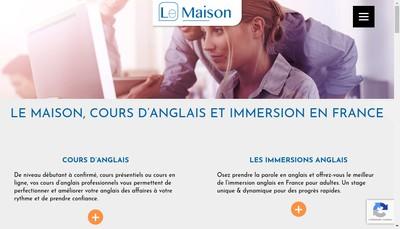 Site internet de Le Maison