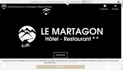 Site internet de Le Martagon