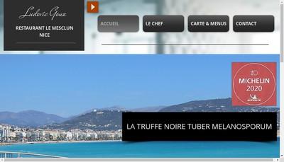 Site internet de Creperie Anne de Bretagne