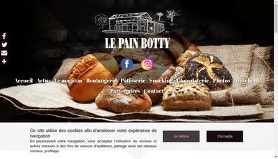 Site internet de Botty