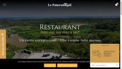 Site internet de Restaurant le Panoramique