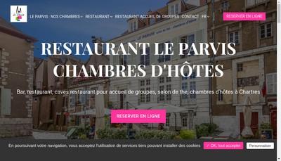 Site internet de Le Parvis