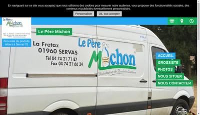 Site internet de Le Pere Michon