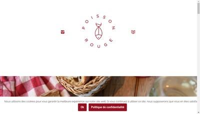 Site internet de Le Poisson Rouge