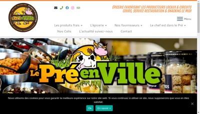 Site internet de Le Pre en Ville