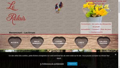 Site internet de Le Relais Campagnard