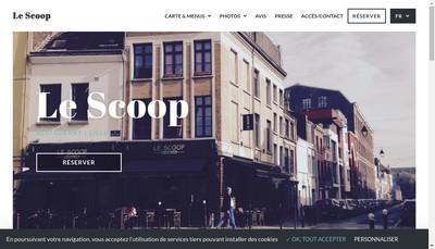 Site internet de Le Scoop du Vieux Lille