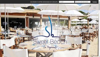 Site internet de Le Sweet