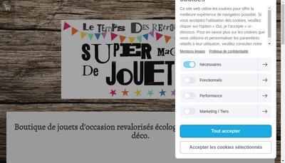 Site internet de Le Temps des Retrouvailles