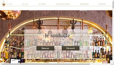 Site internet de Le 153