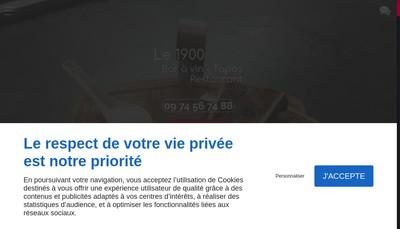 Site internet de Le 1900