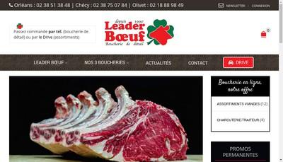 Site internet de Resto Boeuf