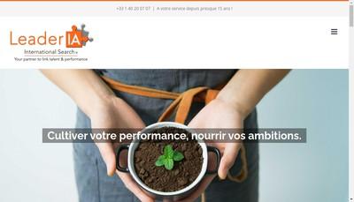 Site internet de Ls Faure International Consulting