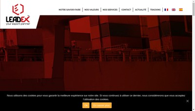 Site internet de Leadex
