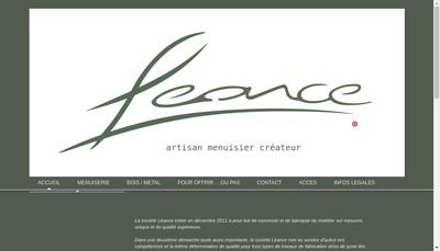 Site internet de Leance