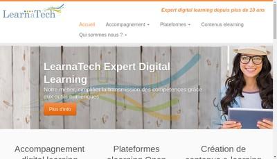 Site internet de Learnatech