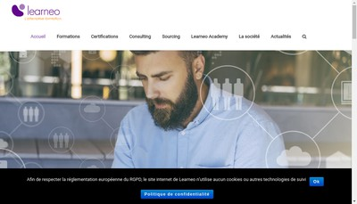 Site internet de Learneo
