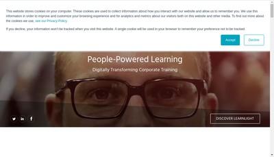 Site internet de Learnlight