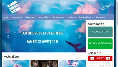 Site internet de Le Bateau Feu
