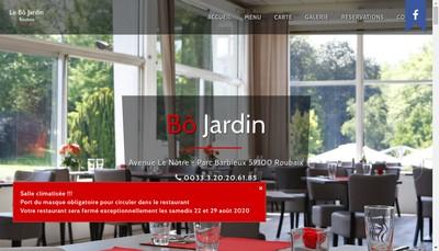 Site internet de Le Beau Jardin