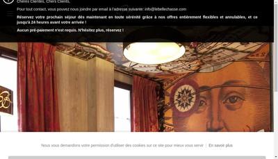 Site internet de Hotel Bellechasse
