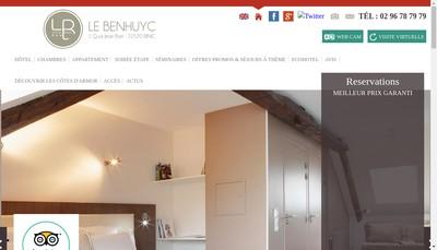Site internet de Le Benhuyc