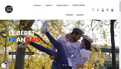 Site internet de Le Beret Francais