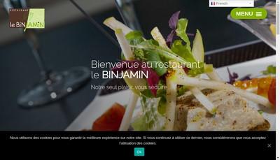 Site internet de Le Binjamin