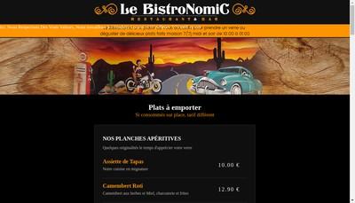 Site internet de Le Bistronomic