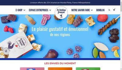 Site internet de Le Bonbon Francais