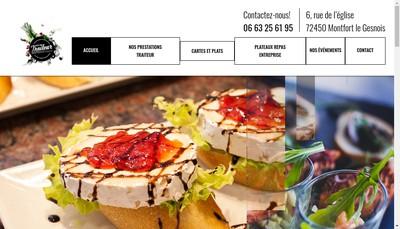 Site internet de Le Bon Traiteur