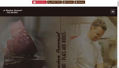 Site internet de Le Bouchon Provencal