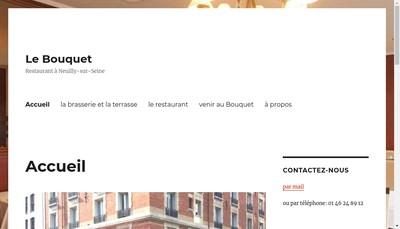 Site internet de Le Bouquet