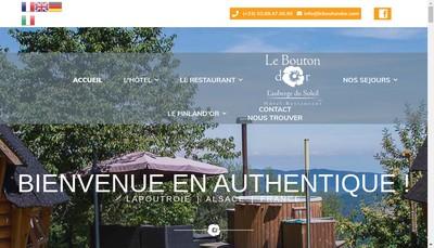 Site internet de Hotel Restaurant du Bouton d'Or