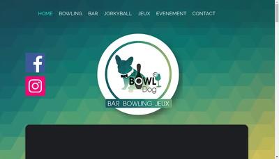 Site internet de Le Bowldog - la Gamelle