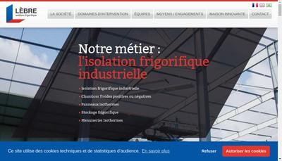 Site internet de Lebre