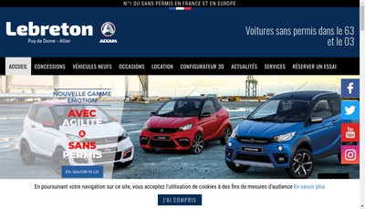 Site internet de C Lebreton