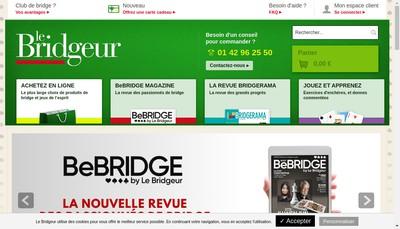 Site internet de Le Bridgeur