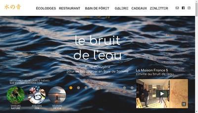 Site internet de Le Bruit de l'Eau