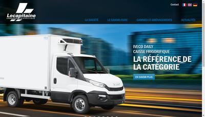 Site internet de Lecapitaine