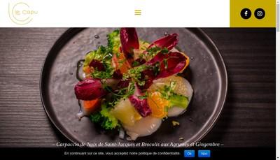 Site internet de Le Capucin Gourmand
